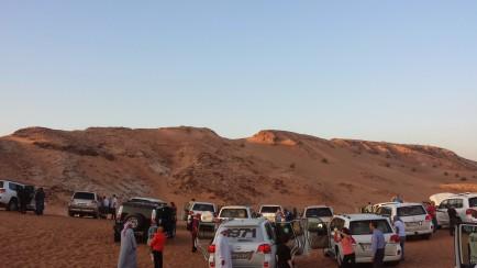 Dune Bashing Caravan