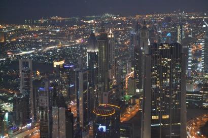 View from the Top- Burj Khalifa
