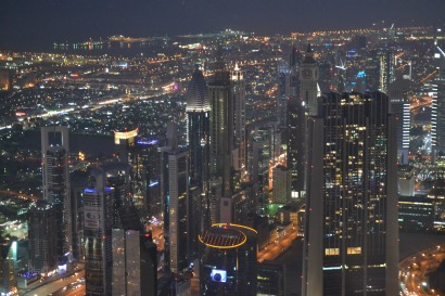 View from the Top- Burj Khalifa